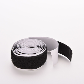 2 Rolls Velcro Hook Strong Self Adhesive Black - intl - 3