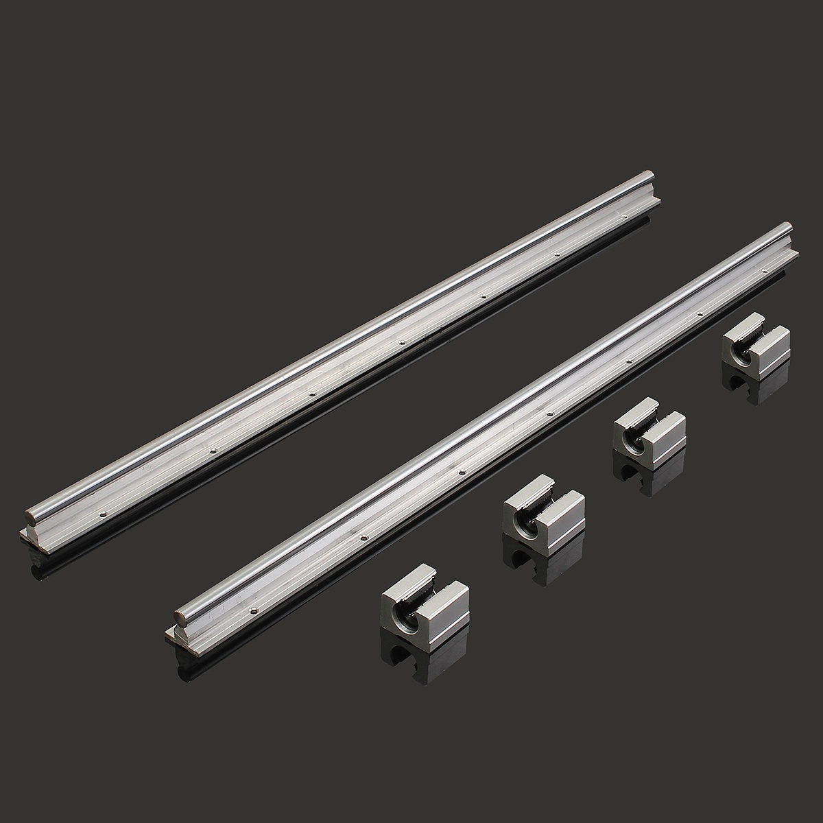 T8 300mm Stainless Steel Lead Screw Sets With Shaft Coupling And 2 D8 3d Printer Plus Nut X Sbr12 700mm 12mm Linear Bearing Rail Slide Guide