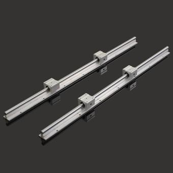 2 X SBR12-700mm 12MM Linear Bearing Rail Slide Guide Shaft + 4Pcs SBR12UU Blocks - intl - 4