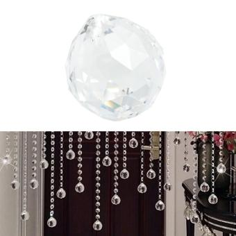 20 mm Clear Ball Lamp Prisms Part Wedding Decor Hanging Pendant -intl
