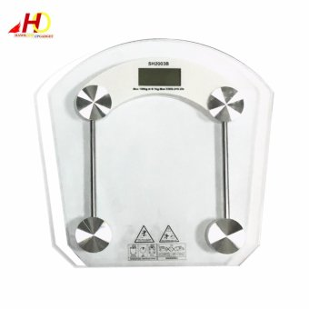 2003B High-Precision Personal Weighing Scales (Clear)