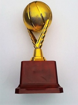2016-Basketball Trophy Gold