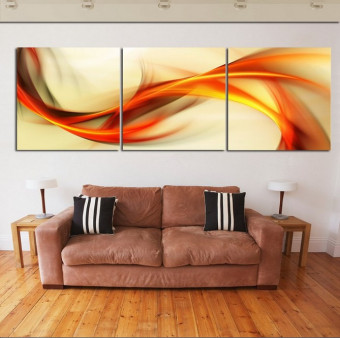 2016 New 3 piece wall art big size 50cm*50cm Home Decor Modern Picture Set on Canvas Painting printed art picture(No frame)