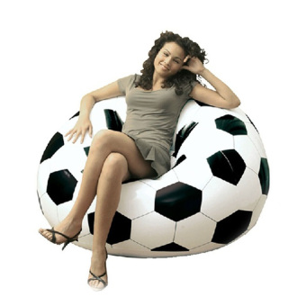 2016 Newest Inflatable Sofa Soccar Football Self Bean Bag Chair Portable Outdoor Garden Living Room Furniture Corner Sofa Set