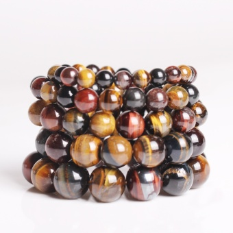 2016 Product Tiger Eye Love Famous Brand Elegant Collar Gifts Buddha Bracelets & Bangles Trendy Natural Stone Bracelet for Women Men Jewelry B6t3 - Size 6mm