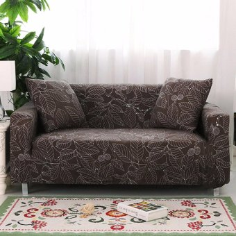 2017 Hot Sale Fashion Loveseat Sofa sectional sofa 3 Seater CouchProtect Cover Stretch Slipcover Slip Resistant Soft Fabric length145 cm to 185 cm - intl