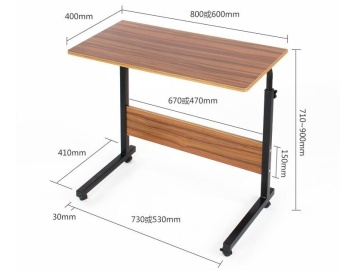 2017 The New Type of Home Multi-function Computer Table(80 X 40 CM)- intl - 3