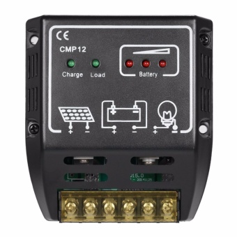 20A 12V/24V Solar Charge Controller Solar Panel Battery RegulatorSafe Protection - intl