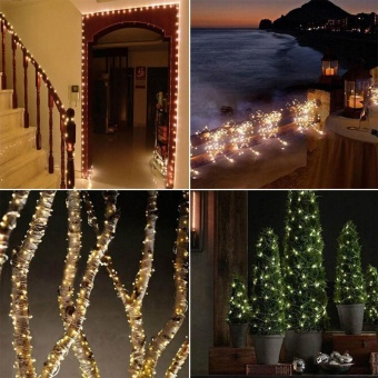 20M 200LED Solar String Lights Christmas Wedding Party Decoration -intl Price Philippines