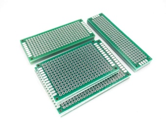 20pcs 5x7 4x6 3x7 2x8 cm double Side Copper prototype pcb UniversalBoard - intl - 2