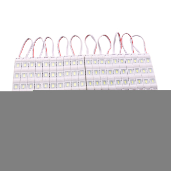 20pcs DC 12V SMD 5050 Rectangle LED Strip LED Light Bar White
