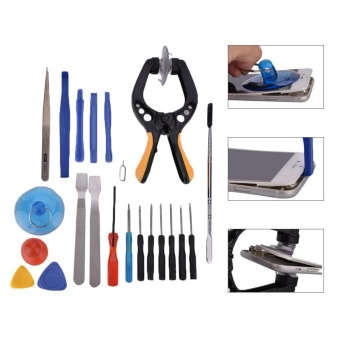 22 in 1 Cell Phone Screen Opening Tool Kit Set Pry Screwdriver Repair Kit For Cell phone - intl