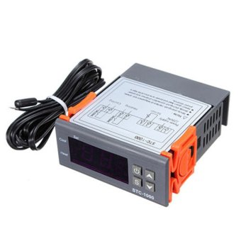 220V Digital STC-1000 Temperature Controller Thermostat Regulator+Sensor Probe - intl