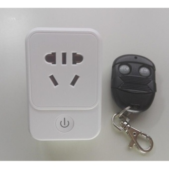 220V Remote Control Socket Power Outlet Switch Set 1 Wireless Plug with Remote Control Plug Energy Saving Electronic