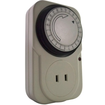24 Hours Mechanical Electrical Plug Program Timer Power Switch Energy Saver