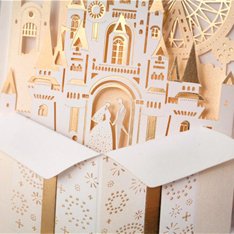 Philippines | 24pcs 3D Luxury Golden Shiny Castle Noble Groom ...