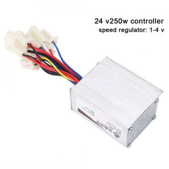 24V 250W Motor Brushed Controller Box for Electric Bicycle ScooterE-bike - intl - 2