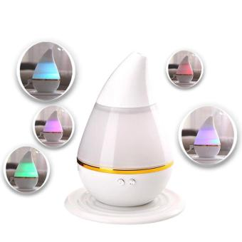 250mL Aromatherapy Essential Oil Purifier Diffuser Air Humidifierwith 7 Changing Colorful LED Lights for Home, Office, Yoga, Spa,Bedroom, Baby Room - intl