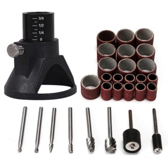 29pcs Universal Rotary Tool Accessories Woodworking Burr Grinding Sanding Tool New - intl