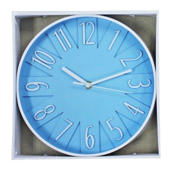 2A Wall Clock 2A9884 (Blue) - picture 2