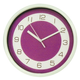 2A Wall Clock AP4034 (Violet)