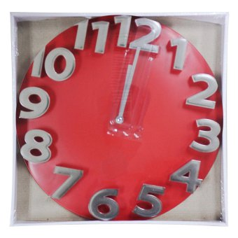 2A Wall Clock AP5095 (Red) - picture 2