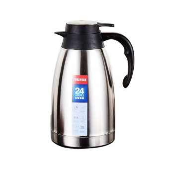2L-Silver-Stainless Steel Vacuum Thermo Jug Double Wall insulatedPot,Thermos Carafe