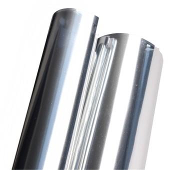 2M Silver Solar Reflective Window Film Paper Insulation Stickers One Way Mirror - 3
