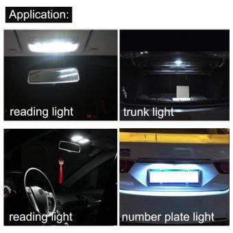 2pcs 41mm COB SMD LED 12V Car Reading Bulb Map Light (white light)- intl - 4