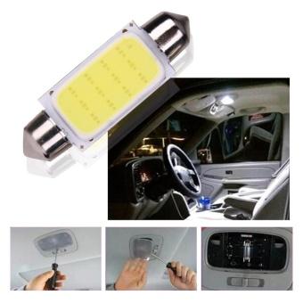 2pcs 41mm COB SMD LED 12V Car Reading Bulb Map Light (white light)- intl - 2