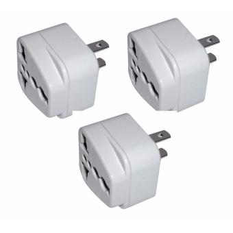3-pc.Omni Round to Flat Adaptor Outlet