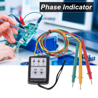 3 Phase Sequence Rotation Testing Tester Indicator Check Tool60V-600V AC BI459 - Intl