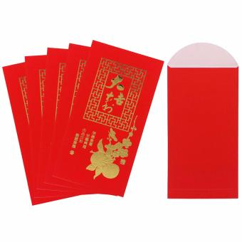 30 Pcs. Chinese Ampao 9.5 x 17 Large Red Envelope New YearChristmas Envelope