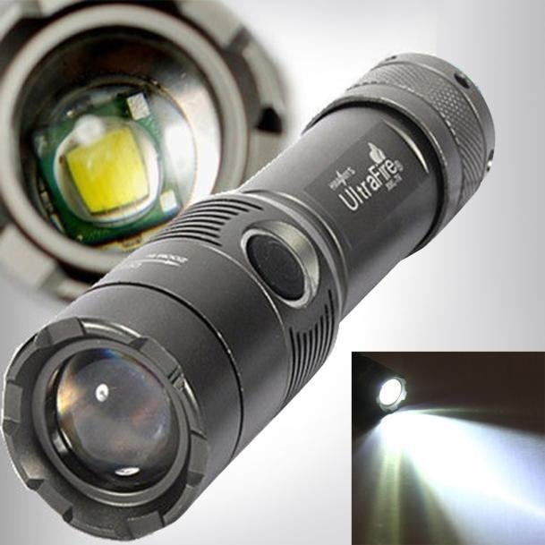 3000Lm UltraFire CREE XML T6 LED Zoomable 18650 AAA FlashlightTorch Light Lamp - intl