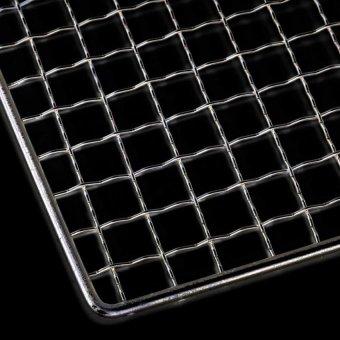 30X45cm Bbq Grill Cooker Stainless Steel Wire Mesh OutdoorPicniccamp Barbecue - intl - 3
