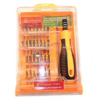 31 in 1 Portable Screwdriver SET (Square) - 51166