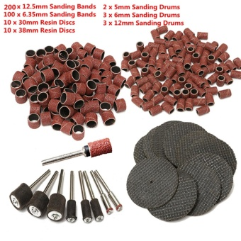 328Pcs Mini Rotary Drill Tool Accessory Grinding Sanding Polisher Polishing - intl