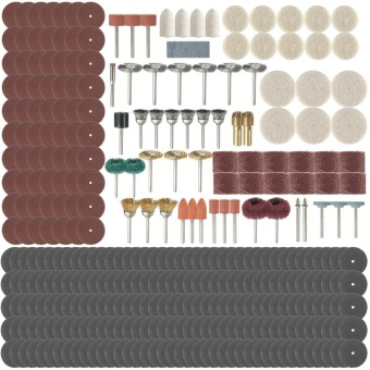 341Pcs Rotary Tool Accessory Kit Bit Set For Sanding Polishing Grinding - intl