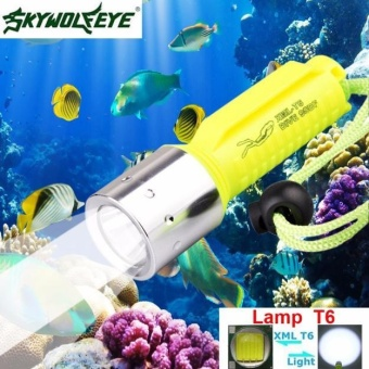 3500LM XM-L T6 LED Underwater 130M Scuba Diving Flashlight Torch 18650 - intl