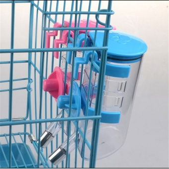 350ml Pet Dog Cat Large Automatic Waterer Drink Dispenser(Blue) - intl - 4