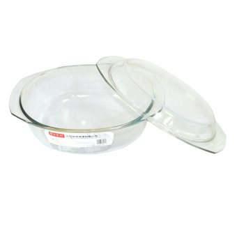 3.5L Oval Tempered Glass Casserole