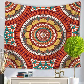 360DSC Mandala Pattern Tapestries Multipurpose Household Blanketfor Beach Towel Bed Sheets Tablecloth Picnic Mat - GT1028-5 - intl