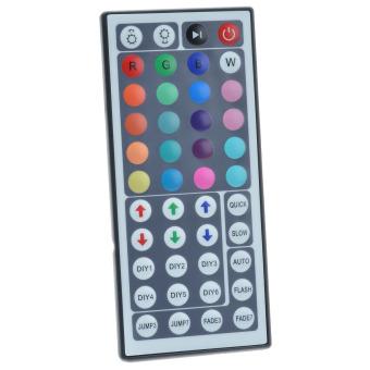 36W 12V 150-LED Mini RGB Waterproof Epoxy Decoration LED Strip Kits - White (500cm)