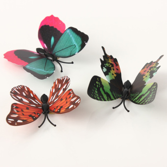 3D Butterfly Wall Sticker With Pin