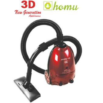 3D Cleaner MC-147 Vacuum Cleaner (Red) Price Philippines
