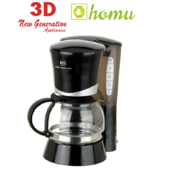 3D CM2022E Coffee Maker (Black)