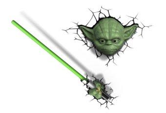 3D Deco Lights - Yoda Set