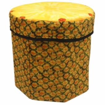 3D Fruit Design Storage Chair (Pineapple)