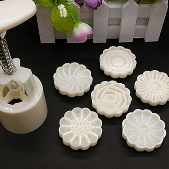 3D Mid-Autumn Festival Cake Pressure Mooncake Mold Cookie Cutter Cake Bakeware - intl Price Philippines