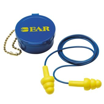3M Ultrafit Ear plugs Reusable Earplug with Case NRR 25 dB